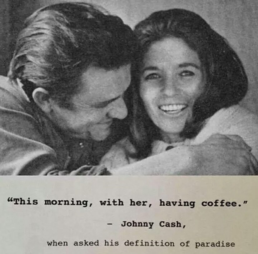 Image of Johnny Cash and June