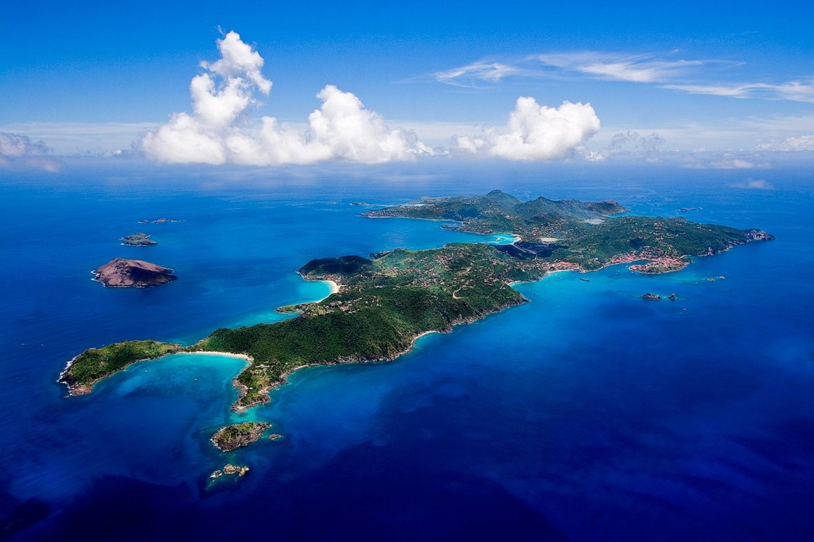 St Barts From The Air