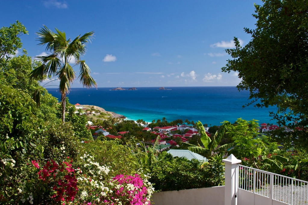 View From a St Barts Villa