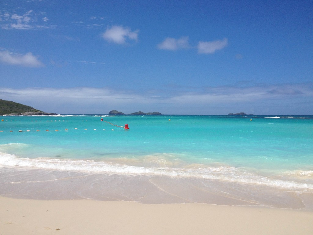 St Jean beach is the place to be i during St Barts high season