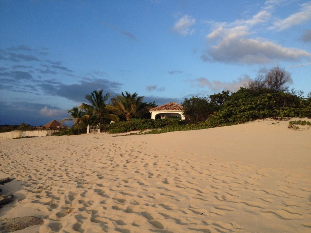 Plum Beach in St Martin