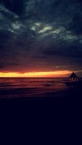 Sunset from Half Moon Resort