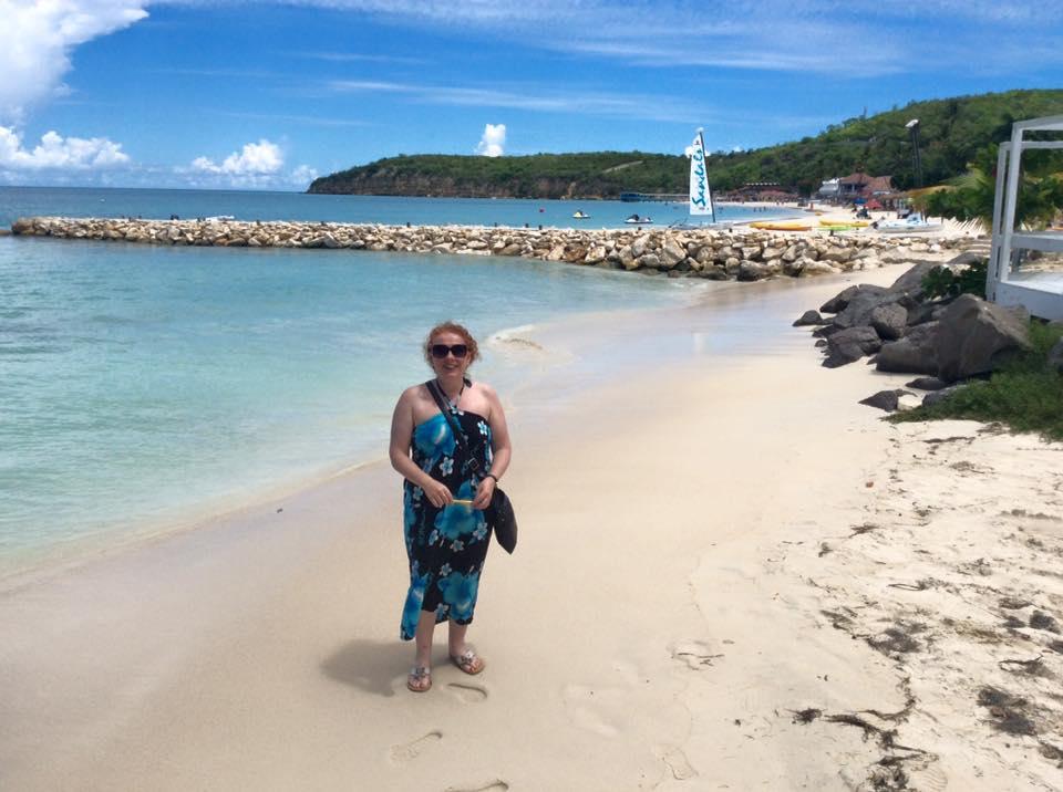 Noreen at Dickenson's Bay Antigua