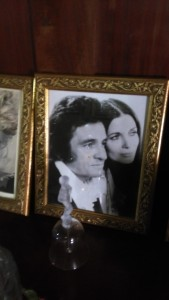 Cinnamon Hill Johnny Cash and June Portrait