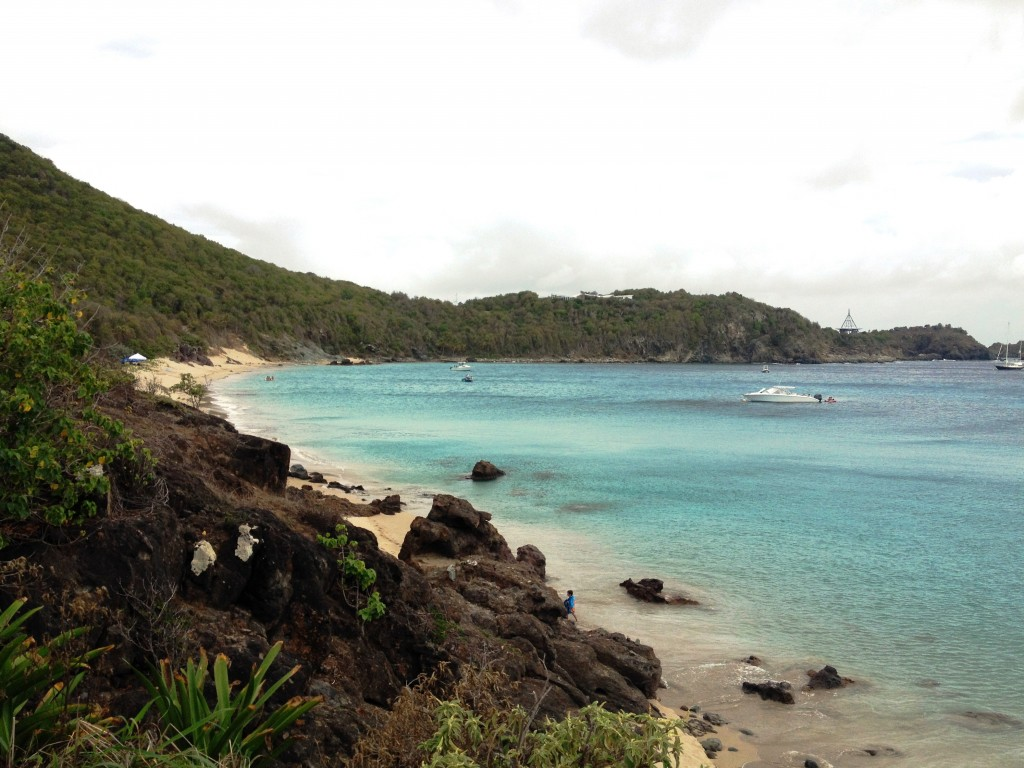 Colombier Beach in St Barts.