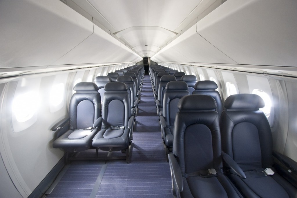 Interior of the Concorde