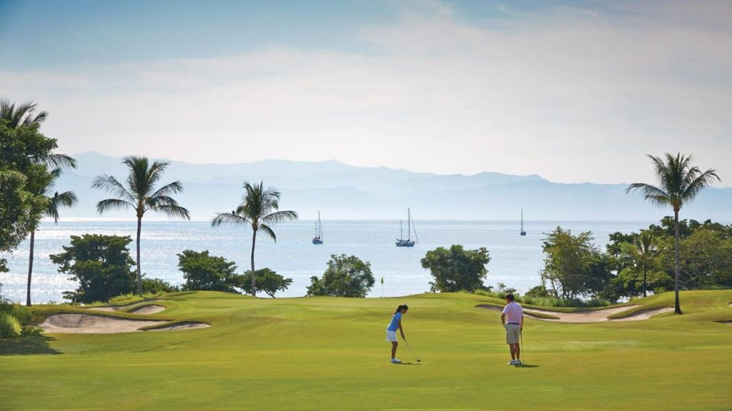 Golf course at Punta Mita
