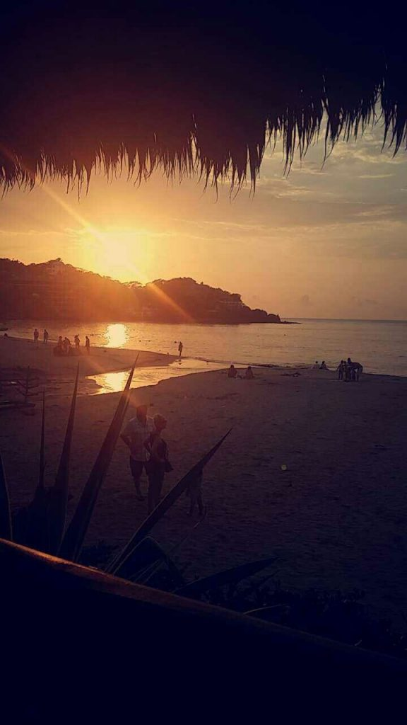 Sunset in Sayulita