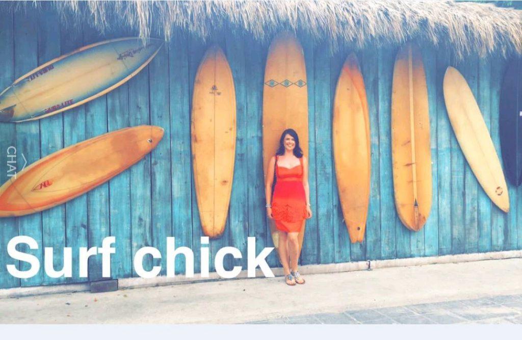 Emma O'Shea: Surf Chick