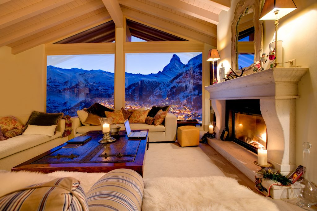 Chalet Grace is arguably one of the finest luxury apartments Switzerland has to offer
