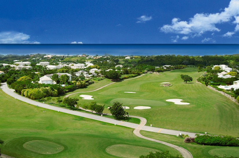 The golf course at Royal Westmoreland