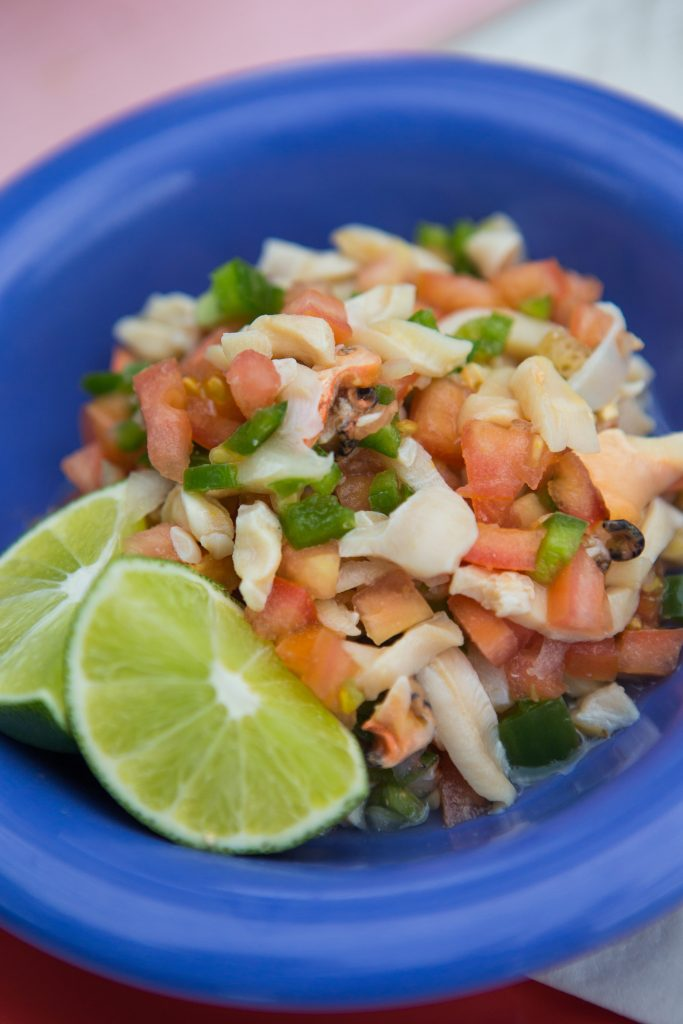 Fresh Conch Salad at Da Conch's