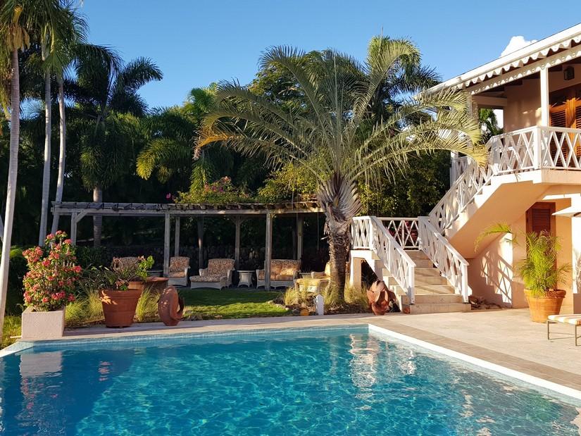 Plumeria. One of the Four Seasons villas in Nevis