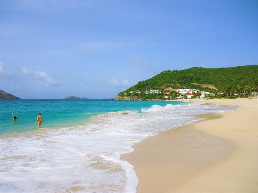 The Ultimate guide to st barts - Flamands beach