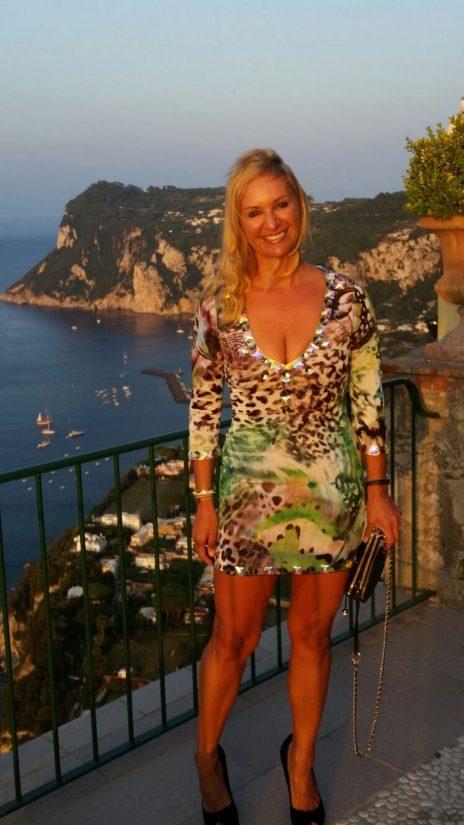 Alex in Capri