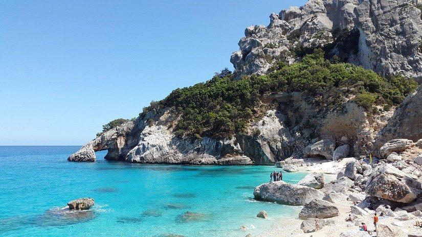 The stunning rugged coastline of Sardinia