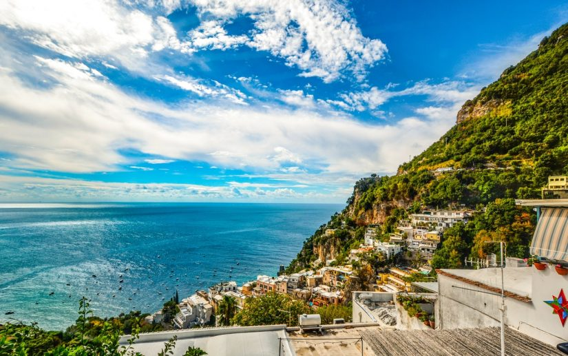 A wonderful way to explore the Amalfi Coast is by sea, take a boat from Positano and enjoy