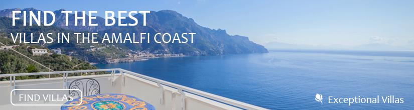 Find the Best Villas on the Amalfi Coast