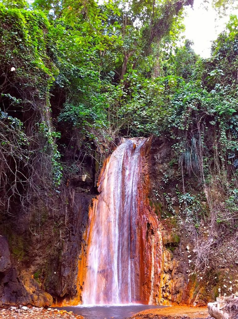 Not sure what to do in St Lucia - visit the diamond waterfall.
