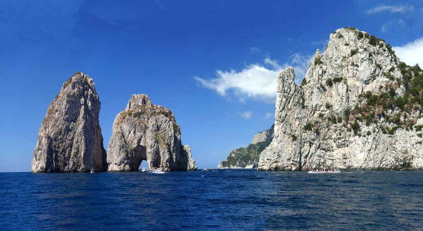 The famed Blue Grotto, where you can slip through the narrow entrance in a small rowboat