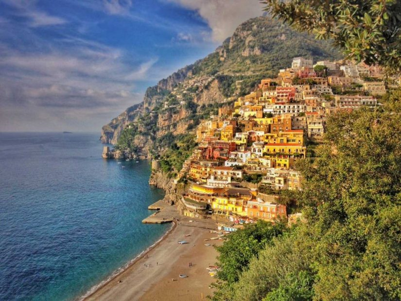 Just from looking at positano things to do pop into the mind