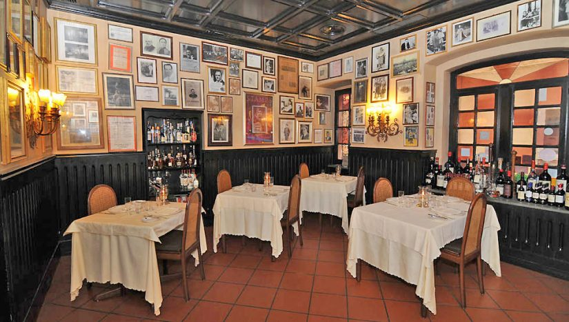 Ristorante Museo Caruso,Sorrento this wonderful restaurant has set itself up as a museum to honour the memory of Enrico Caruso, and early 20th century opera legend