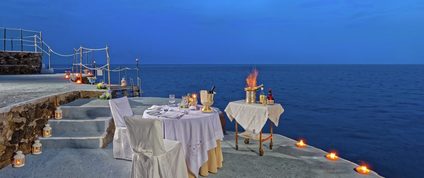 Ravello italy restaurants - look no further - L'Antica Cartiera fits all of the above