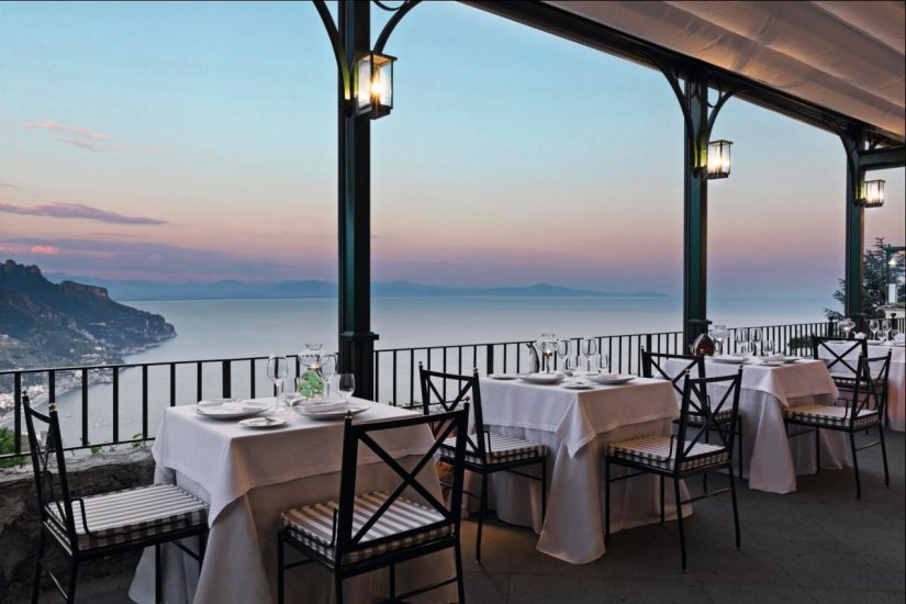Is Rossellini's one of the best restaurants in Ravello? We think so.