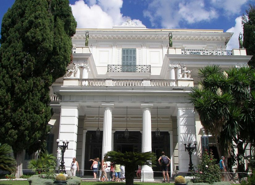 One of the most pleasant things to do in corfu is visit the Achilleion palace