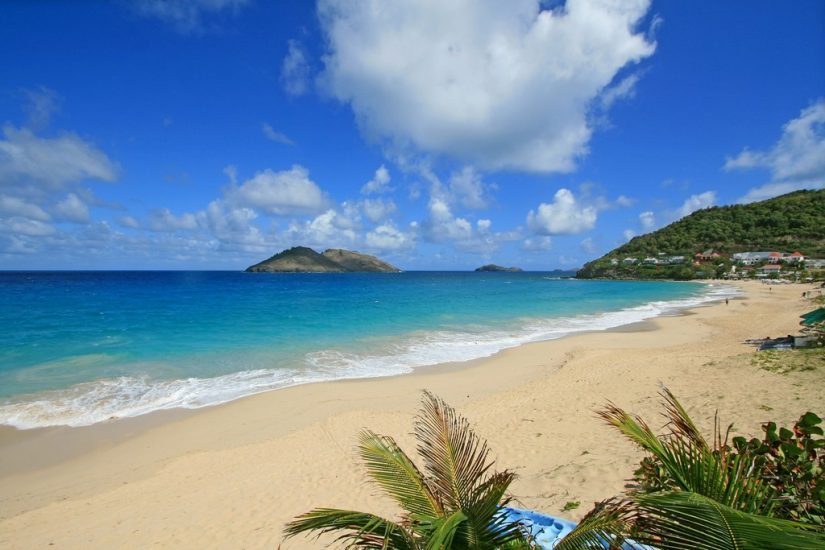 Flamands Beach - One of the best things to do in st barts is to sit back, relax, and watch the waves roll in. The vivacious tropical plants sets the scene of this sugar fine white sandy beach.