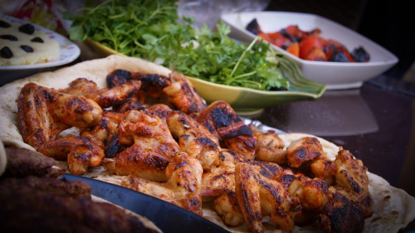 Indulge in some Jamaican jerk cuisine, a rich tasty treat and one of the delicious attractions in Jamaica.