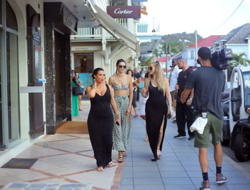 Our exceptional St Barts Villas have also been visited by the famous Kardashians