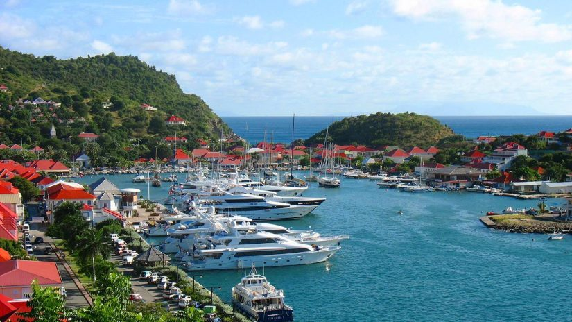 The capital is called Gustavia, and it is absolutely charming, as it is lined with yachts and luxurious villas