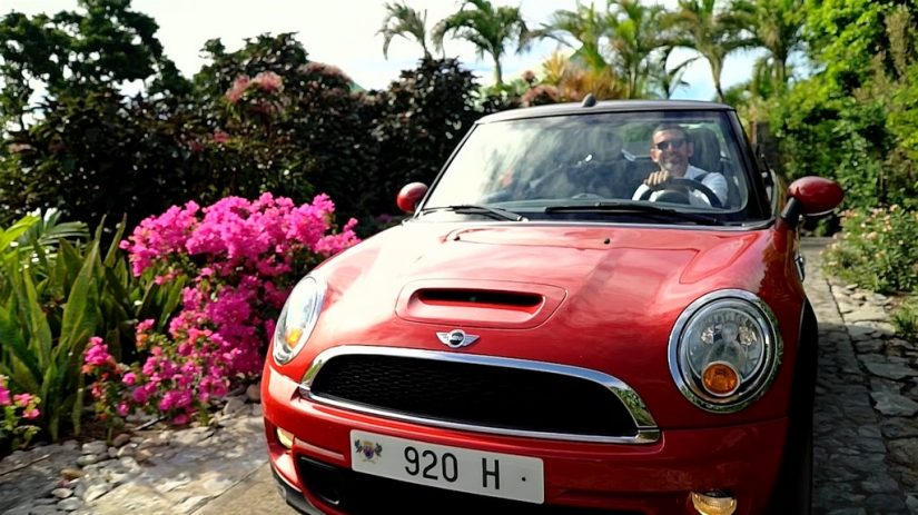 The most popular car to rent in St Barts is an open top mini, and it is a great way to get around the island.