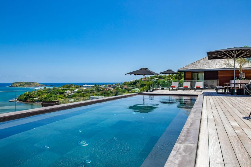 Enjoy an Island retreat in your very own St Barts Villa by the pool.