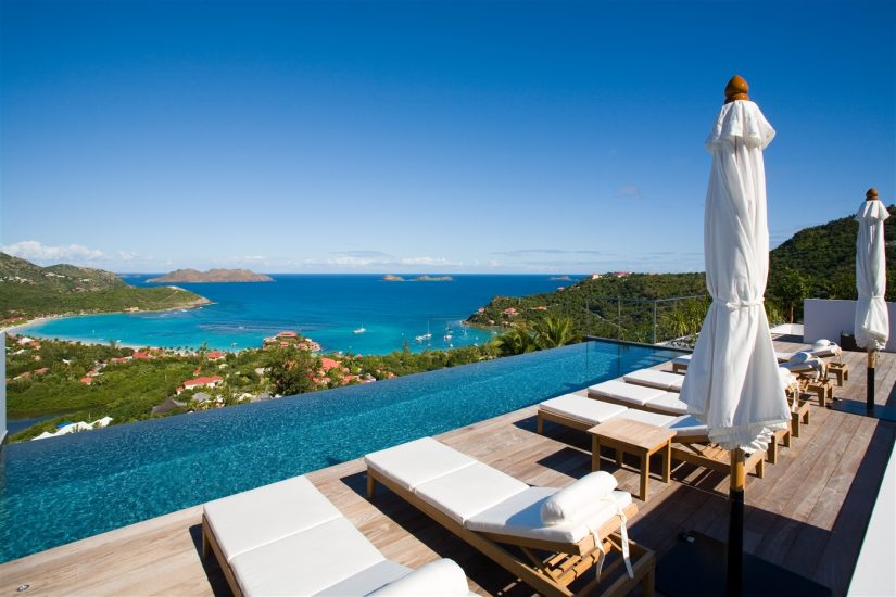 Enjoy the crystal clear weather from your St Barts Villa, as you start your Caribbean Vacation