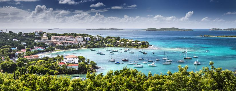 Where can I travel without a passport? Why not visit the US Virgin Islands with listening turquoise waters and sandy beaches!