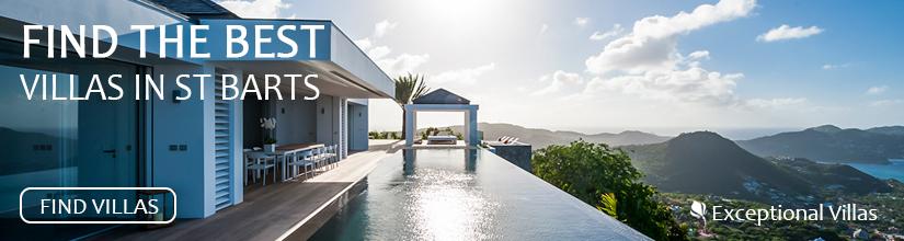 Exceptional Villas, find the best villas in St Barts