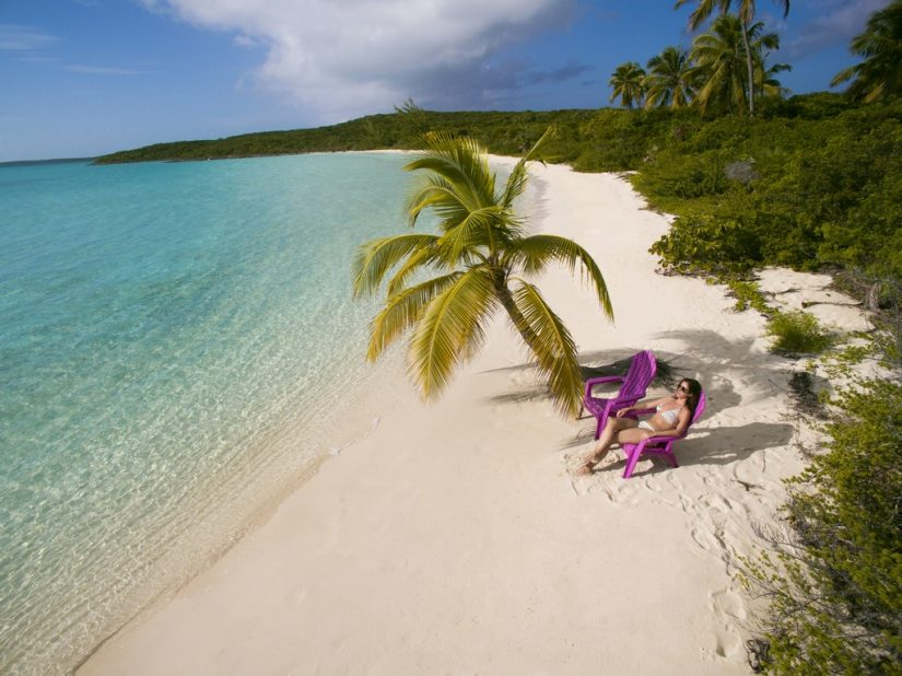 The Exumas is a series of islands overlooking the ocean and filled with an abundance of fun Bahamas attractions