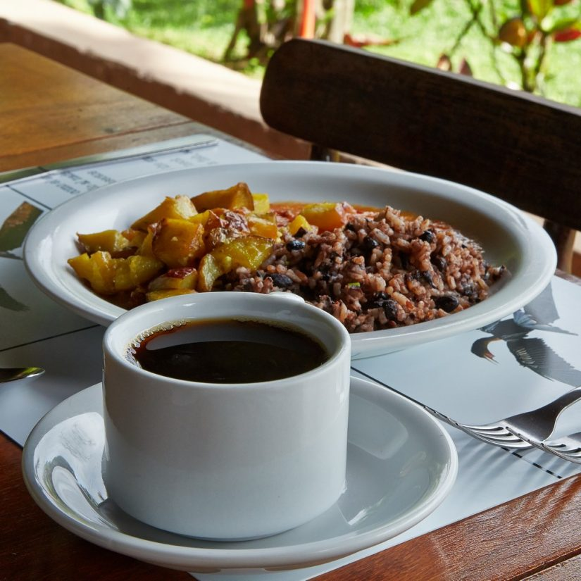 Costa rica attractions include the local dishes such as Gallo Pinto, a famous breakfast dish of rice and beans