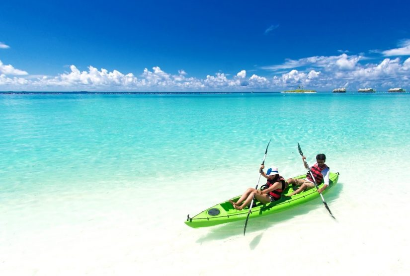 Water sports are the top things to do in the Bahamas along the warm Caribbean waters
