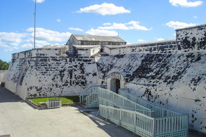 Nassau points of interest includes the captivation Fort Charlotte overlooking the Port in Nassau