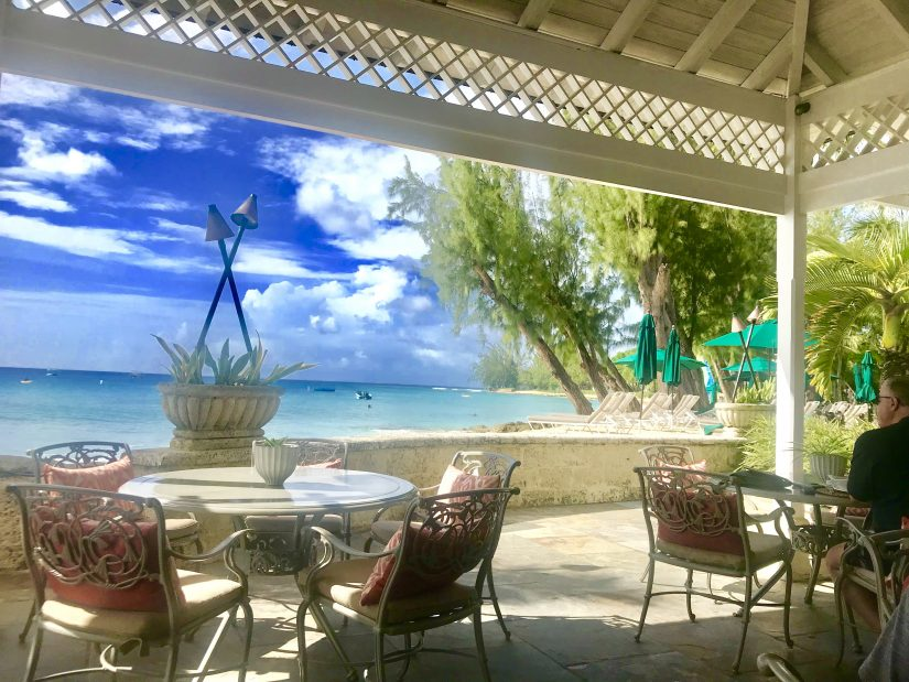 The View from the Coral Reef Club in Barbados