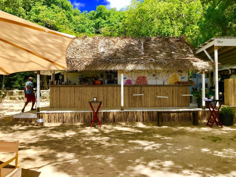 La Cabane beachfront restaurant