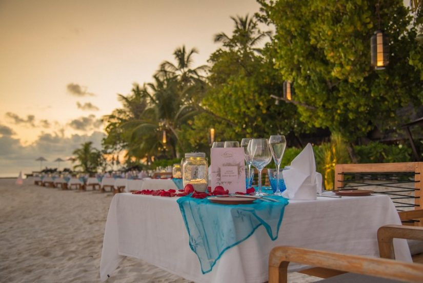 Nikki Beach restaurant and the Port Ferdinand Resort in Barbados