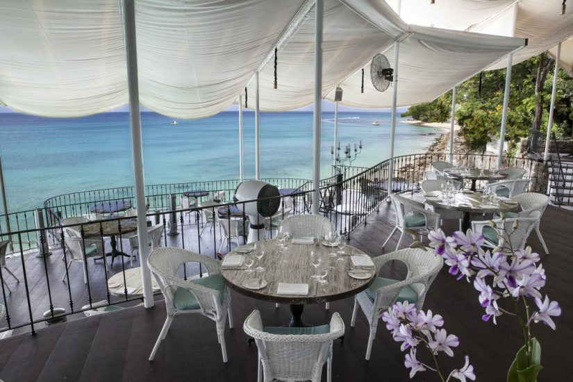 The Cliff Beach Club is one of the nicest Barbados restaurants