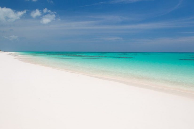 Cat island embraces one of the best beaches in Bahamas, the 8-mile Pink Sand Beach
