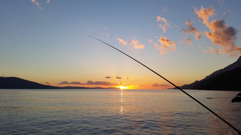Enjoy some Bahamas fishing as you watch the sun set over the Caribbean Sea