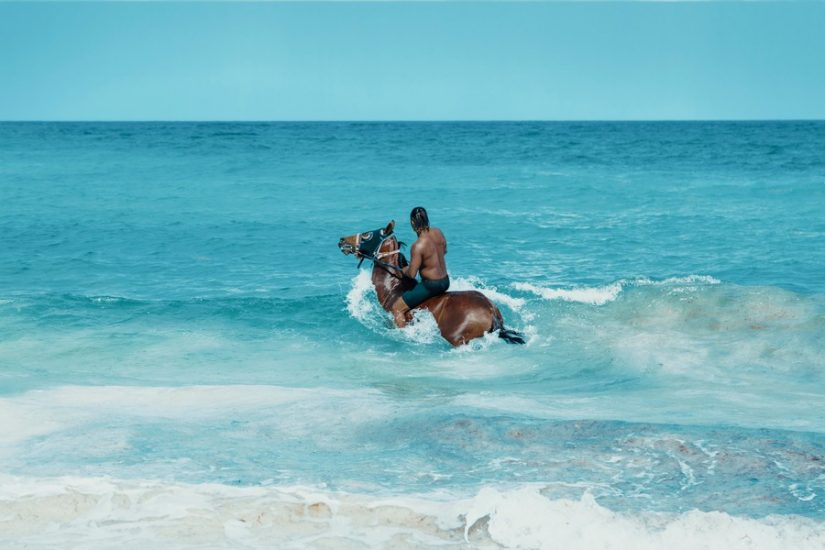 Half moon bay horseback riding is a great way to explore the beach and the shallow warm waters during your stay