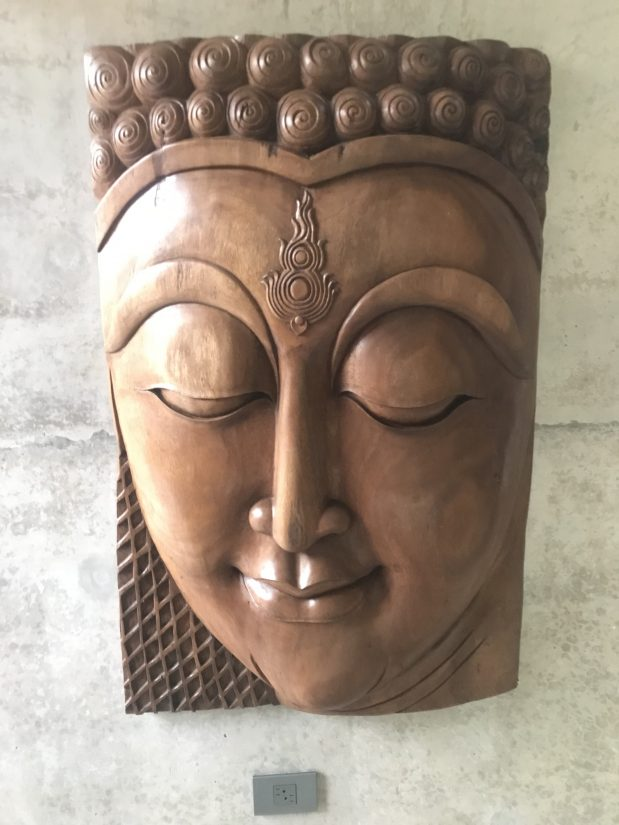A balinese bas-relief